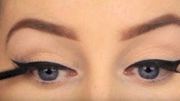 eye liner réussi