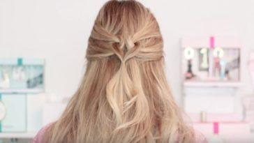 coiffure cheveux coeur