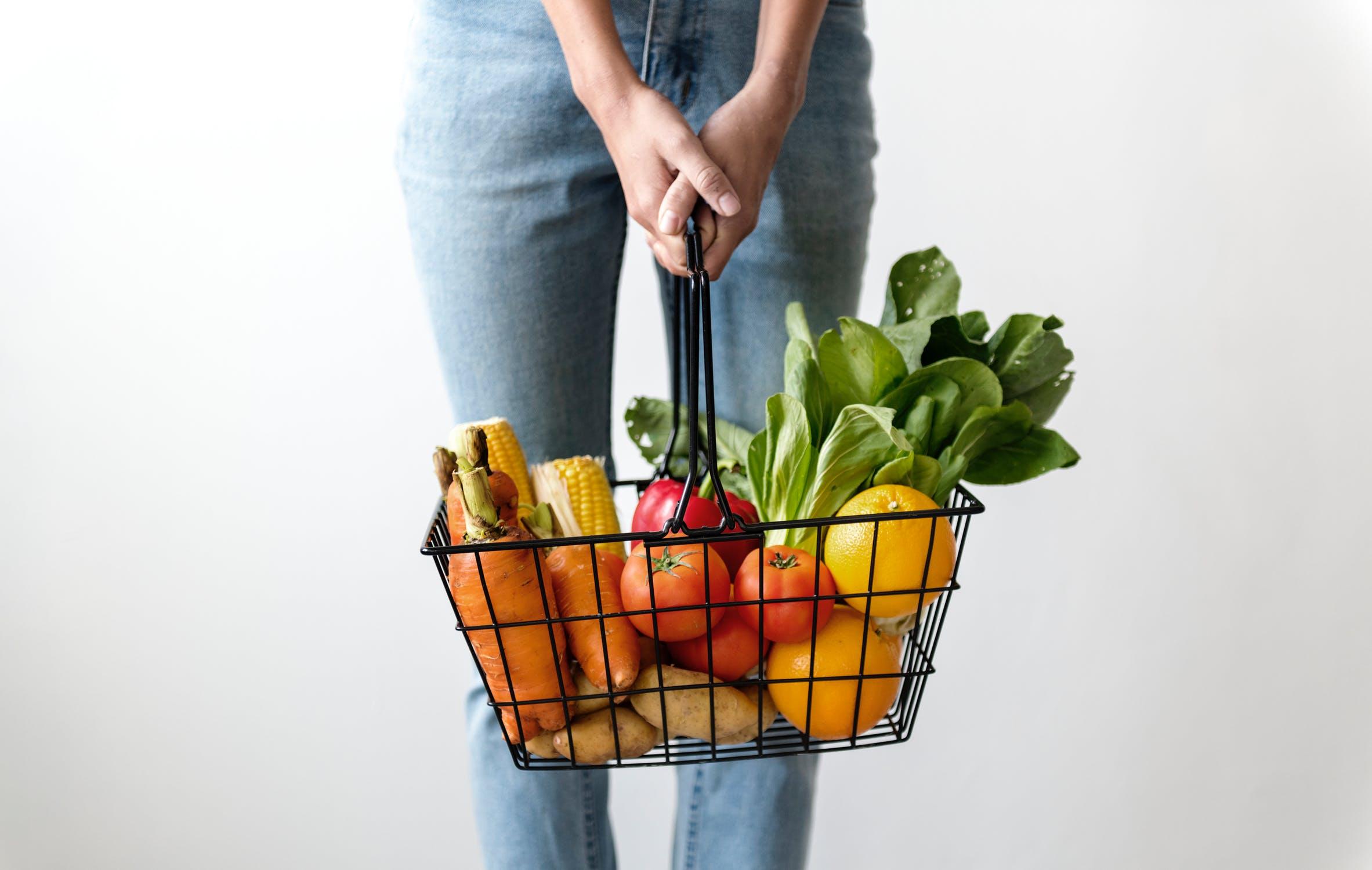 manger des fruits et légumes contre les rides