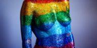 couleur corps peinture peindre scintiller