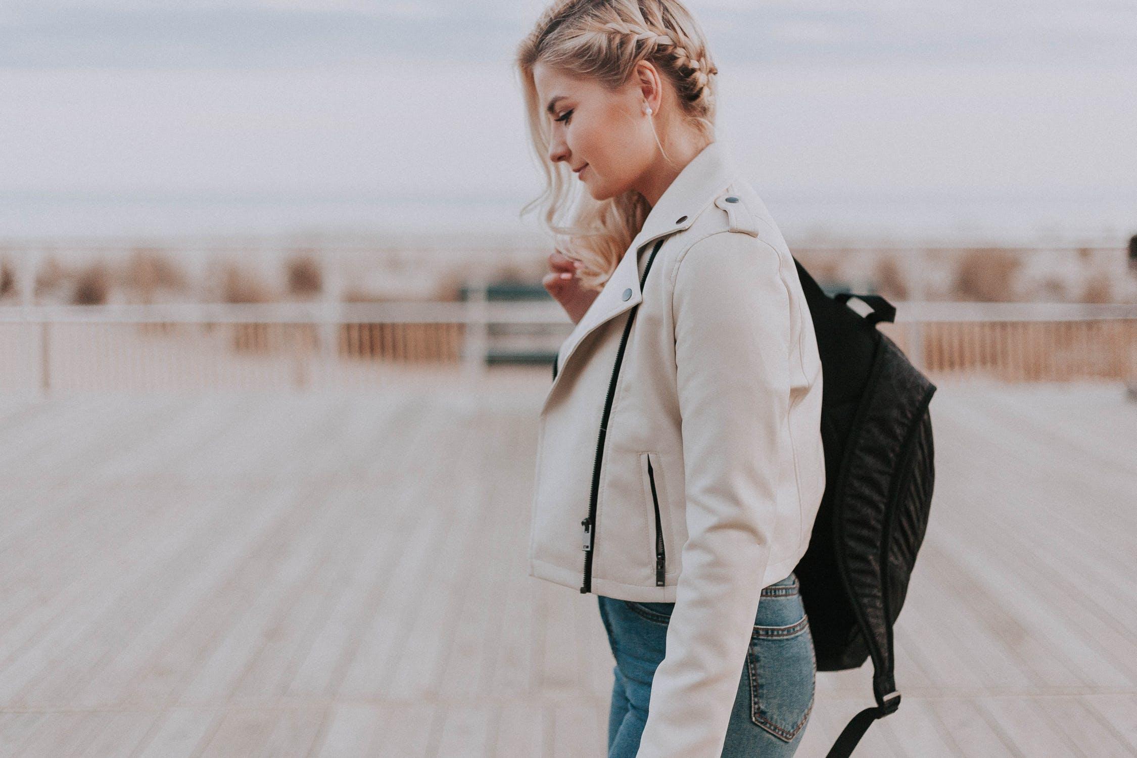 sac à dos en tissu perfecto veste mode