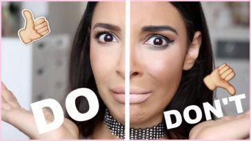 makeup faux pas