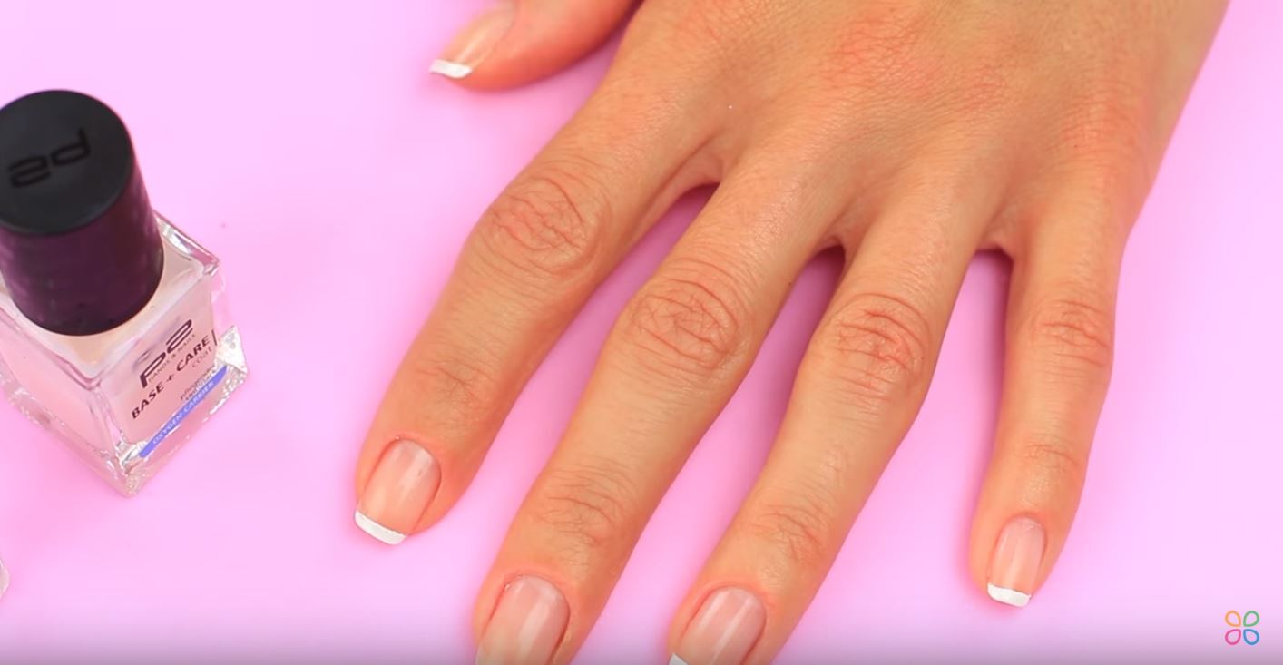 main vernis à ongles manucure