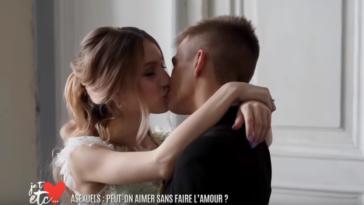 asexuels couple baiser