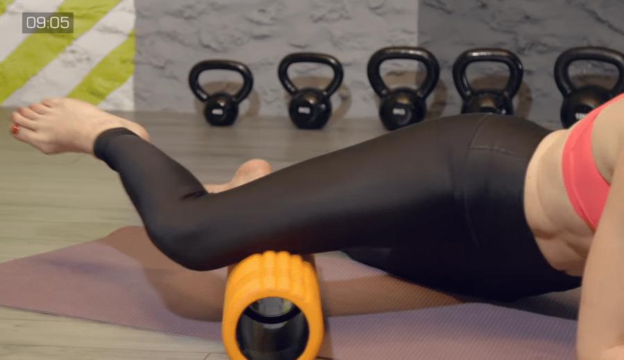 éliminer la cellulite avec un rouleau de massage