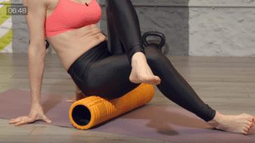 éliminer la cellulite avec un rouleau