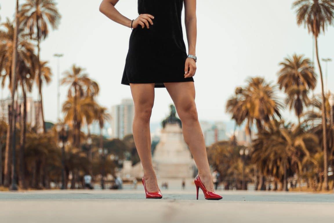 escarpins jambes