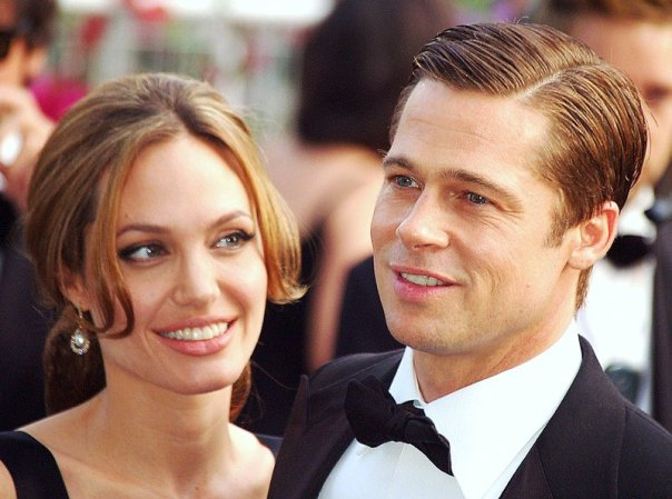 couple de stars Angelina Brad Pitt