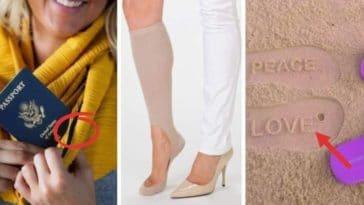 vêtements utiles accessoires mode insolites