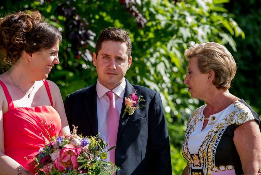 parents du mariés ou de la mariée