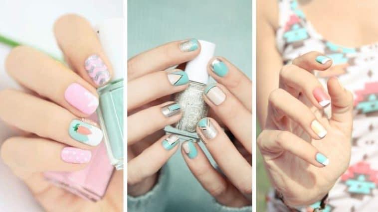 ongles manucure pastel nail lart