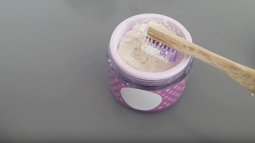 dentifrice naturel en poudre