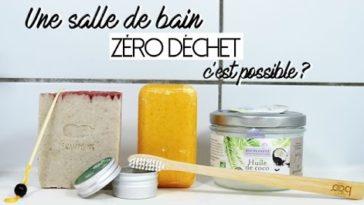 salle de bain zéro déchet cosmétiques solides
