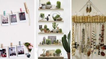 idées déco faciles maison chambre DIY