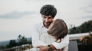 couple amour joie homme parfait