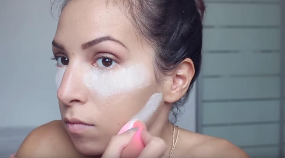maquillage astuces talc