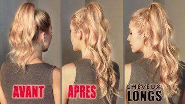 coiffures cheveux longs boucles astuces coiffure paresseuses
