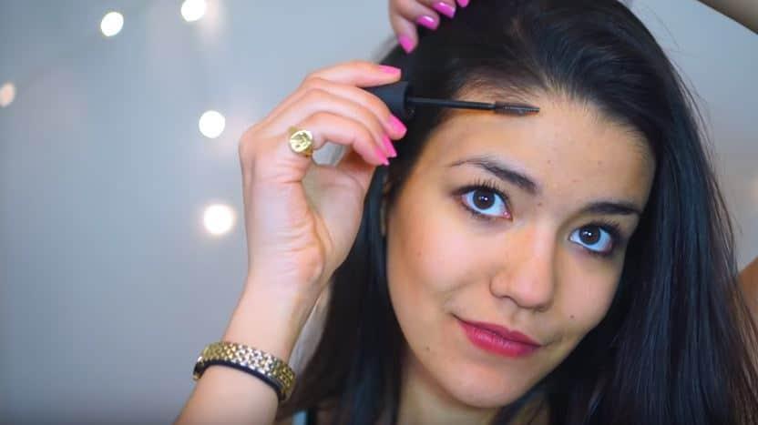 brosse mascara épi cheveux