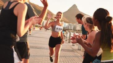 bonnes raisons de courir un marathon course à pied running footing femme