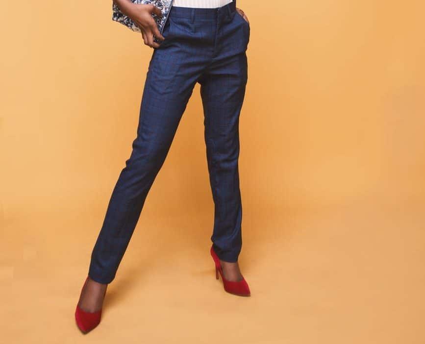 pantalon mode femme noire
