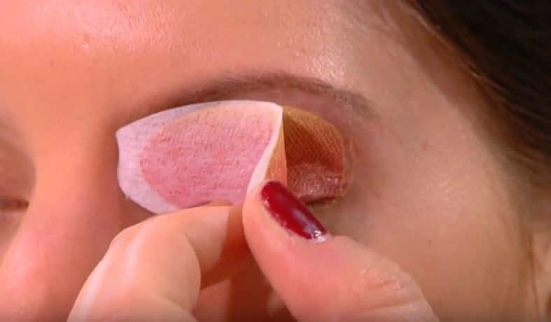 patchs a paupières maquillage facile rapide