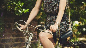 faire du vélo en jupe ou en robe