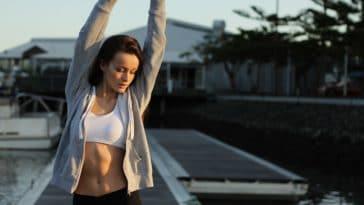 étirer perdre poids minceur gym femme brûler graisses