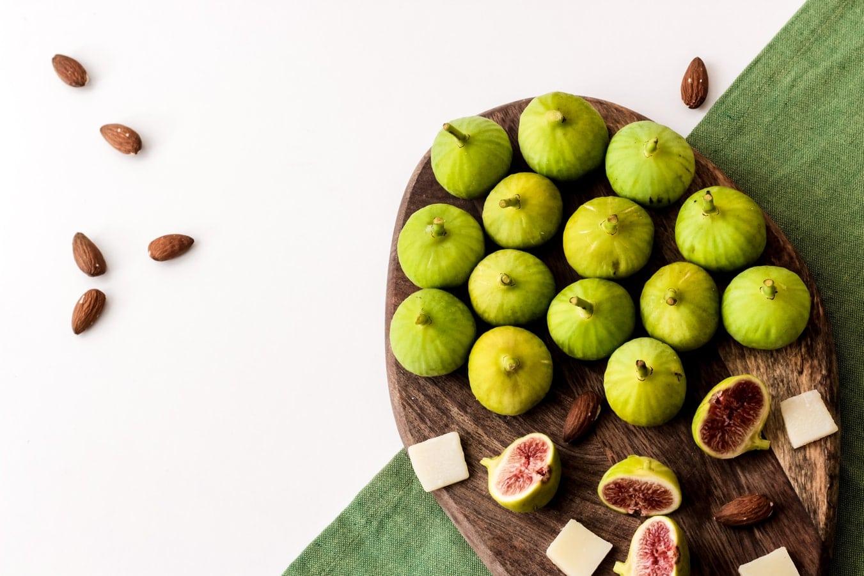 figues fruits secs amandes dejeuner petit brûler des graisses rapidement