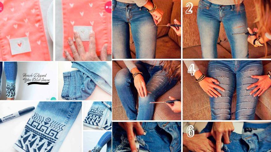 5 tutos faciles pour offrir une seconde vie à ses jeans