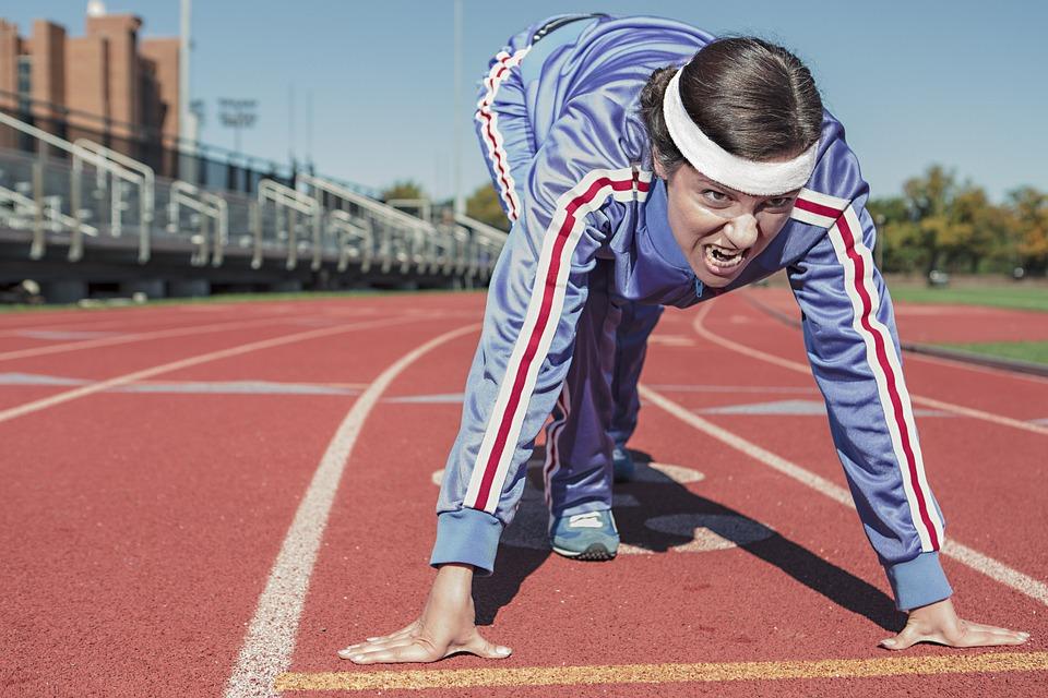 faire du sport ligne de départ course