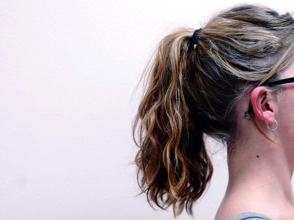 coiffures personnalité sexuelle queue de cheval