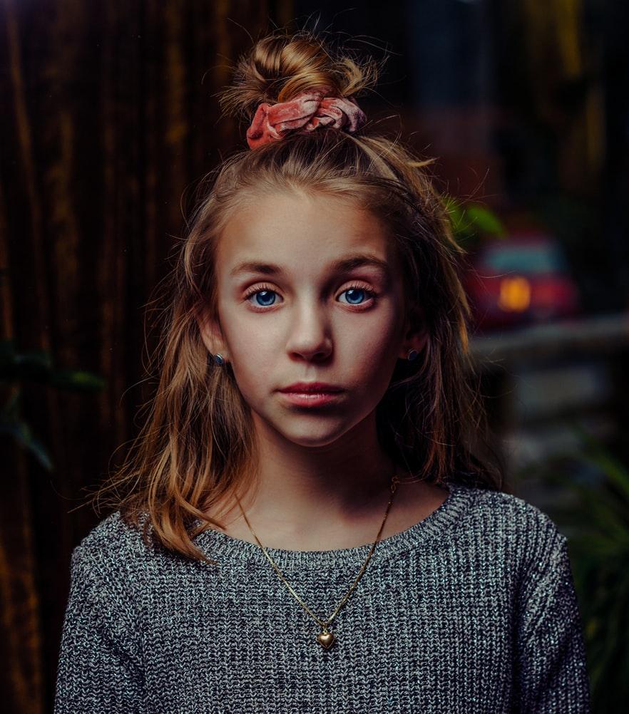 chouchou coiffure petite fille mode apres 30 ans