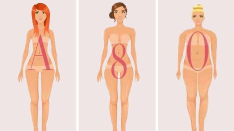 morphologies corps différents types femmes