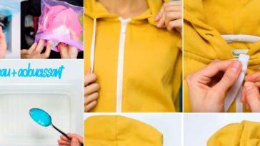 astuces vêtements géniales couv pull