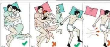 positions de couple pour dormir