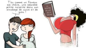 dessins enceinte grossesse illustrations humour