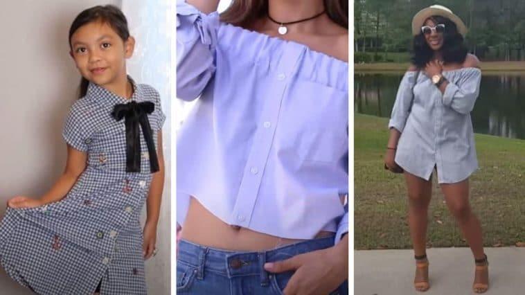 DIY transformer chemise homme pièce mode