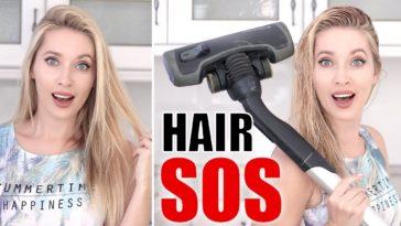 Panne de sèche-cheveux ? Testez cette technique insolite avec un aspirateur !