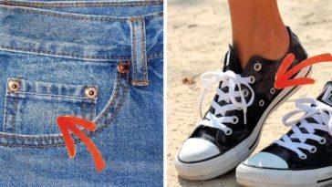 utilisations cachées fonctionnalités vêtements