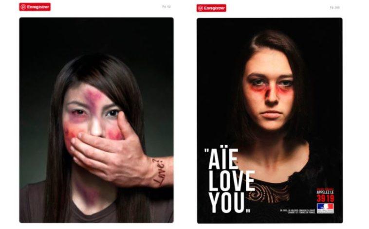 des photos choc pour d noncer les violences conjugales faites aux femmes 100 f minin. Black Bedroom Furniture Sets. Home Design Ideas