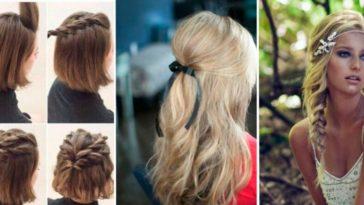 coiffures romantiques sexy soirée en amoureux inspiration cheveux