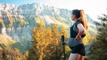 femme enceinte sport montagne grossesse