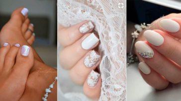 ongles manucures mariage inspiration mariée mode