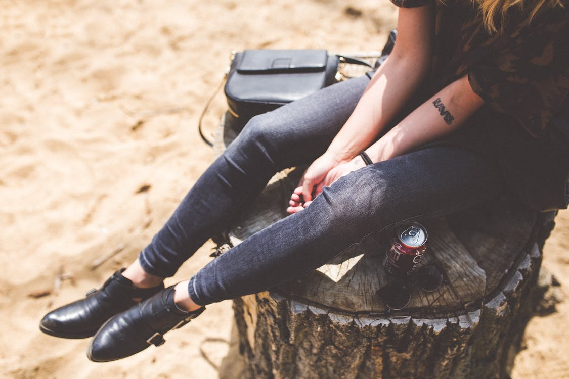 bottines look chaussures personnalité rock