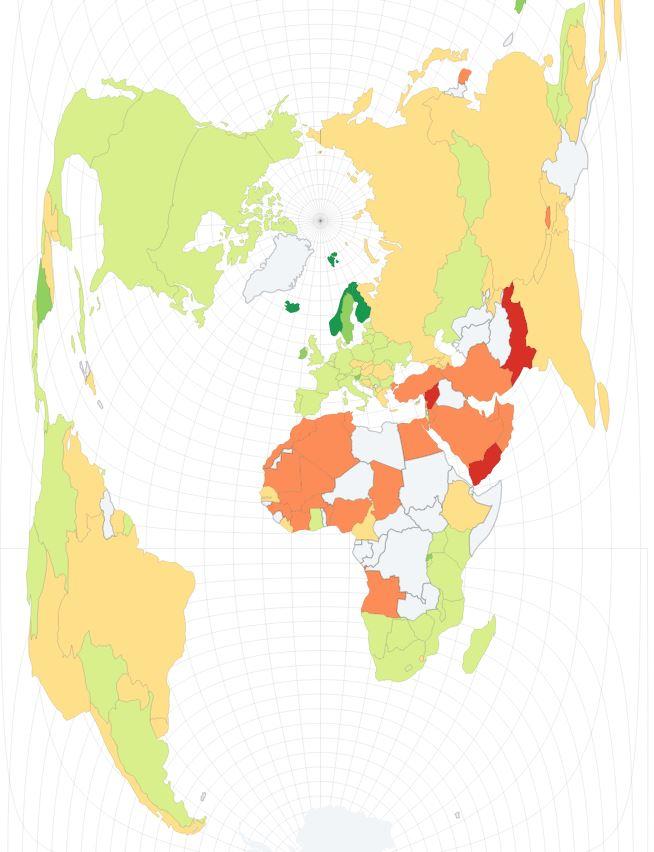 droits des femmes cartes monde