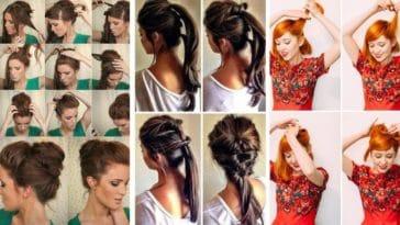 coiffures de soirée inspirations