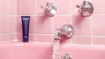 gel douche bain baignoire danger santé
