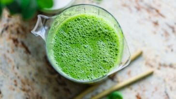 recette de smoothie vert detox jus de fruit