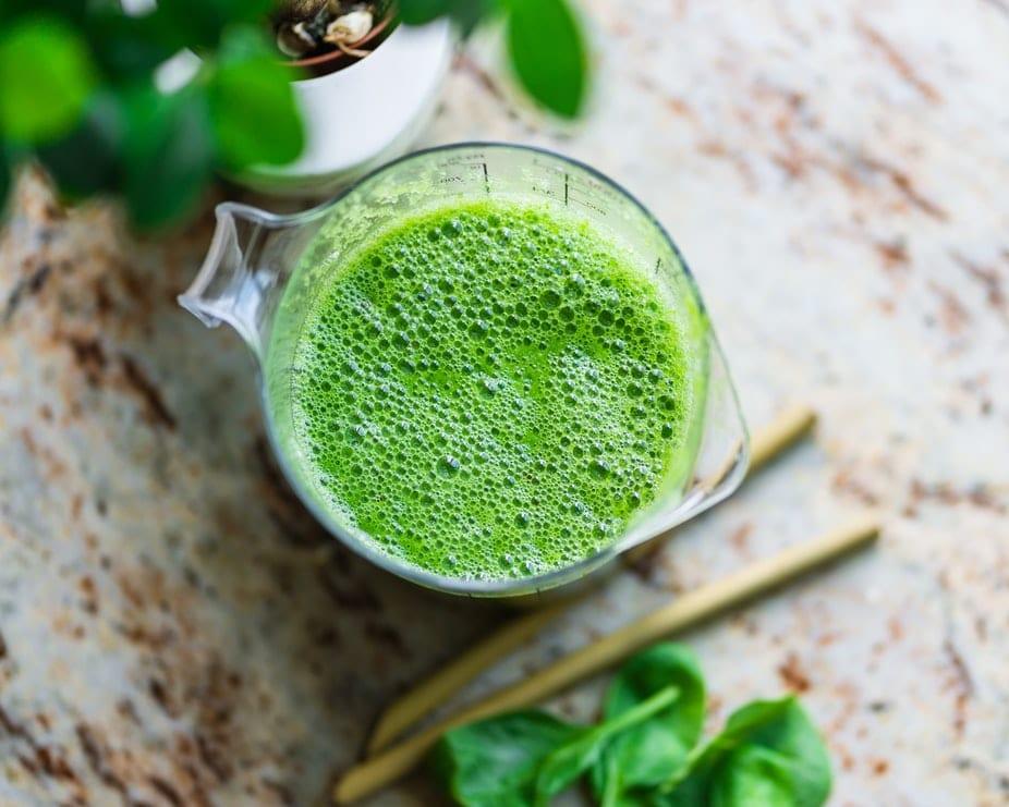 recette de smoothie vert detox jus de fruit bienfaits