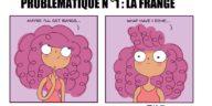 dessins problèmes filles cheveux bouclés